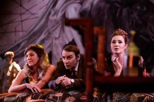 na zdjęciu od lewej: Izabela Kubrak, Dariusz Starczewski, Anna Rokita