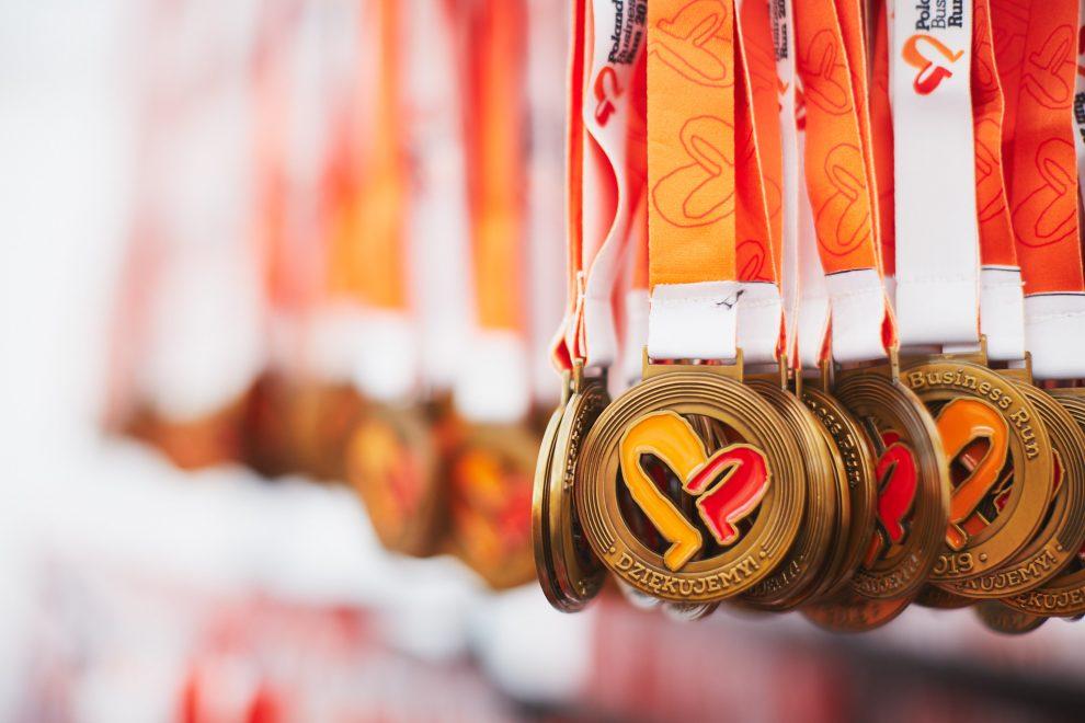 medale Poland Business Run