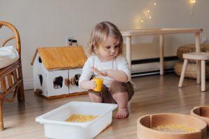 ćwiczenia sensoryczne dla dzieci